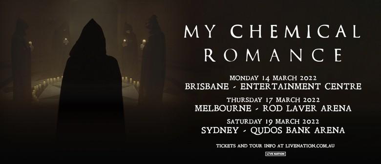 My Chemical Romance announce 2022 Australian arena tour