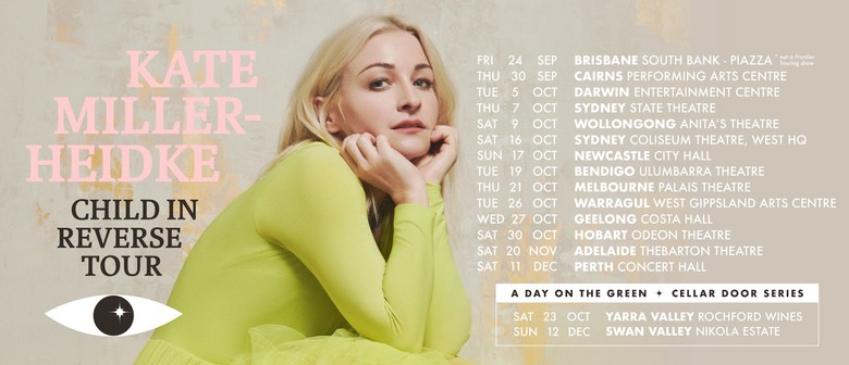 """Kate Miller-Heidke returns to the stage for national """"Child In Reverse Tour"""""""