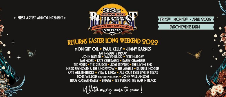 Bluesfest rescheduled to Easter 2022