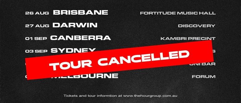 HP Boyz Australian Tour cancelled