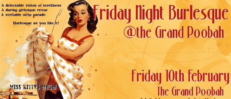 Friday Night Burlesque At the Grand Poobah