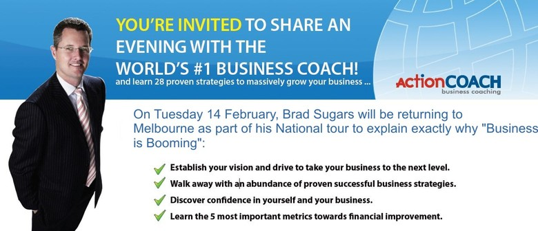 Business is Booming: Brad Sugars Tour