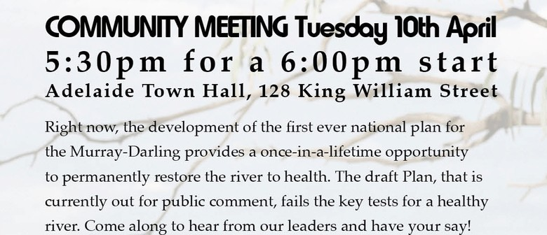 Murray River Community Meeting