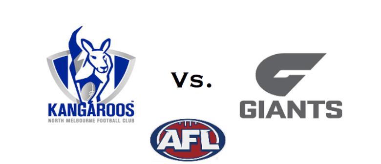 North Melbourne vs Great Western Sydney