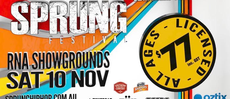 Sprung Hip Hop Festival
