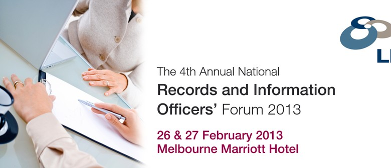 4th Annual National Records and Information Officers' Forum