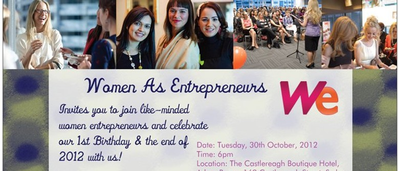 Women as Entrepreneurs 1st Birthday Party