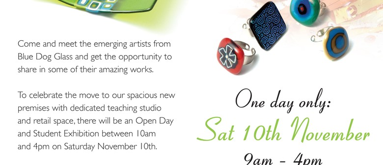 Open Day at Blue Dog Glass