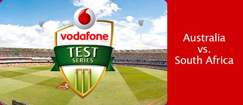 Vodafone Second Test Match: Australia vs South Africa