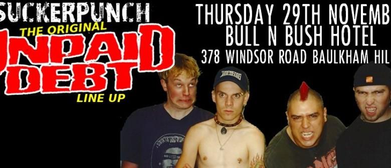 Sucker Punch: Original Unpaid Debt Line Up