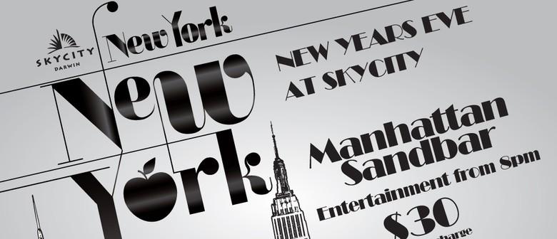 NYE Skycity: Manhattan Sandbar with DJ Mobin Master