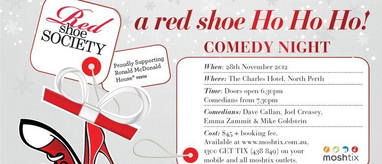 A Red Shoe Ho Ho Ho!