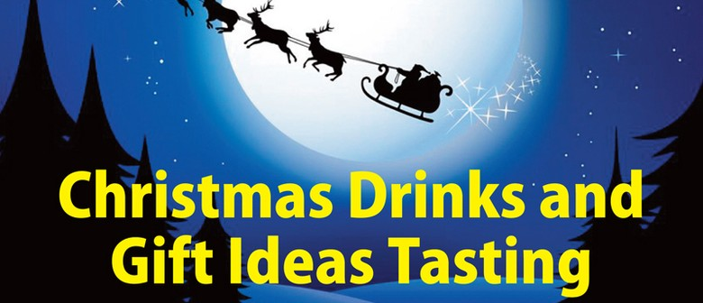 Christmas Drinks and Gift Ideas Tasting