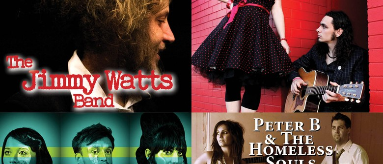 Jimmy Watts Band, Astrid and The Asteroids