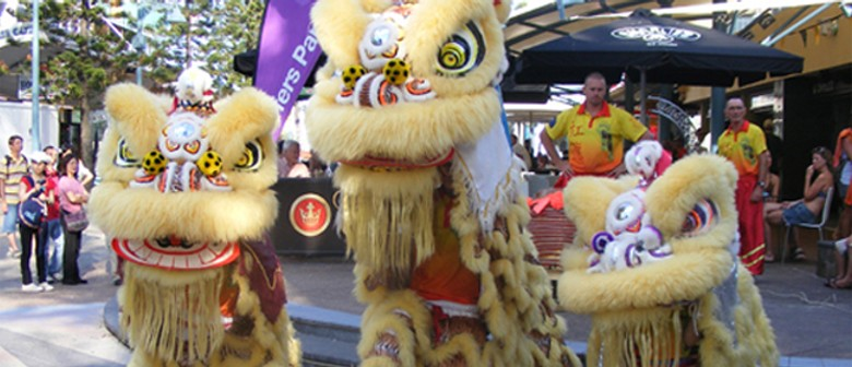 Chinese New Year at Surfers Paradise