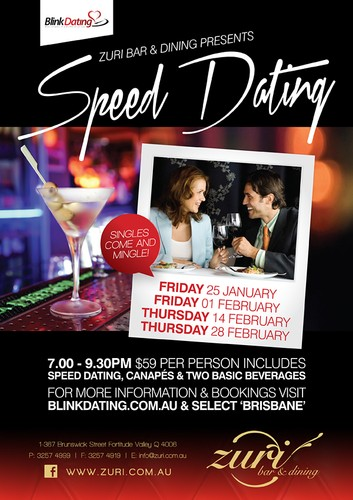 Speed dating orlando in Brisbane