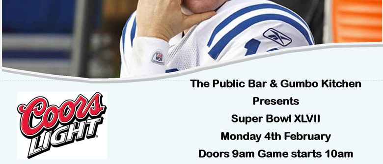 Super Bowl XLVII at The Public Bar
