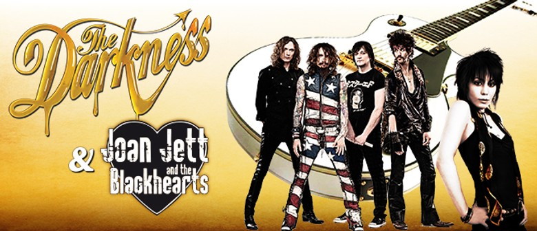 The Darkness and Joan Jett: CANCELLED