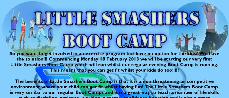 Little Smashers Boot Camp