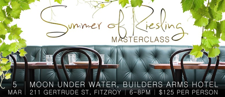 Summer of Riesling Masterclass