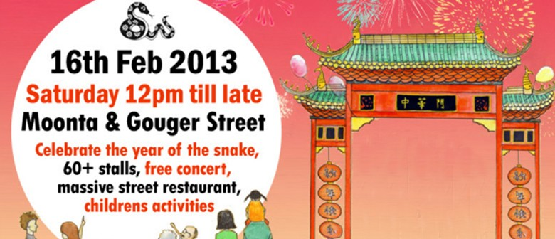 Chinatown Adelaide Lunar New Year Street Party