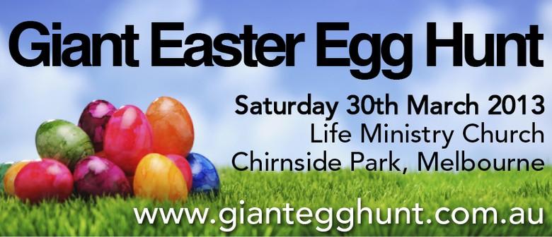 Giant Easter Egg Hunt Melbourne