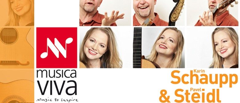 Musica Viva presents Karin Schaupp and Pavel Steidl