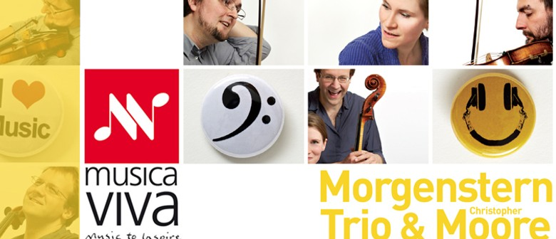 Musica Viva presents Morgenstern Trio and Christopher Moore