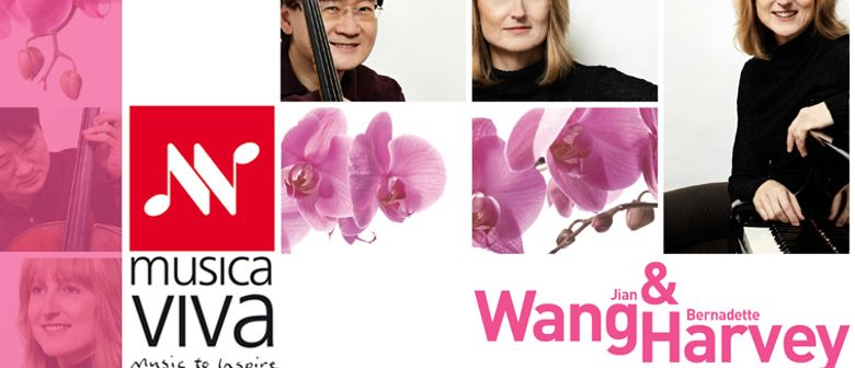 Musica Viva presents Jian Wang and Bernadette Harvey