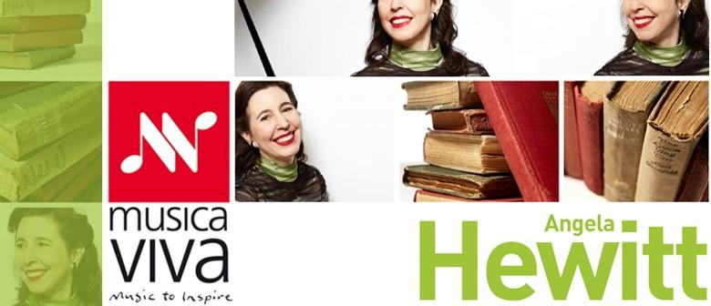 Musica Viva presents Angela Hewitt