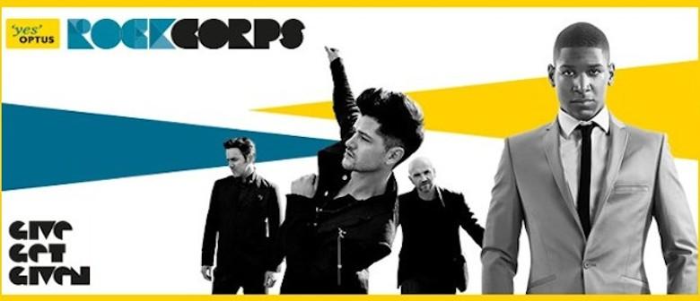 Optus RockCorps: The Script, Labrinth & Guy Sebastian