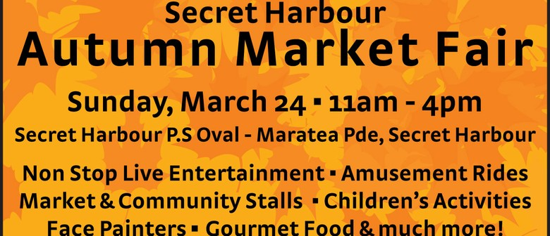 Secret Harbour Autumn Market Fair