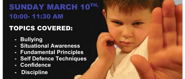 Kid's Self-Defence Seminar