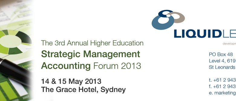 The 3rd Annual Higher Education Strategic Management Account