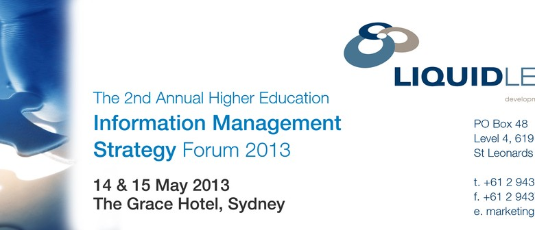 Higher Education Information Management Strategy Forum