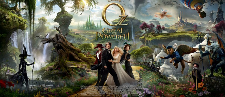 Oz the Great and Powerful Movie Fundraiser Night
