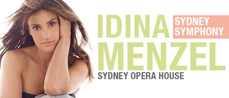 Idina Menzel with the Sydney Symphony Orchestra