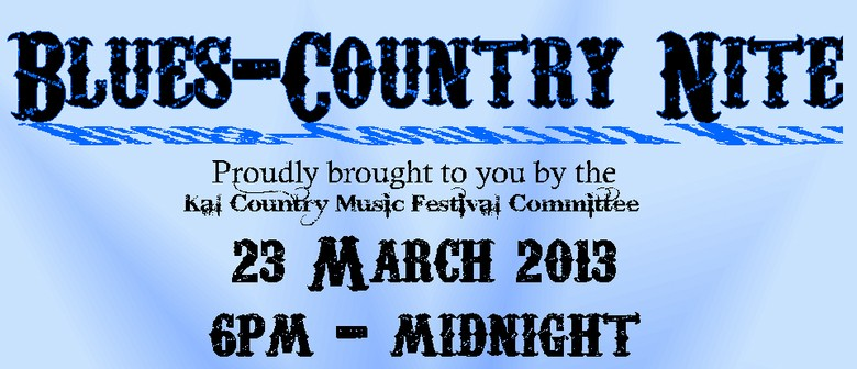 Blues Country Music Nite