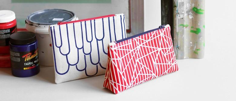 Design, Screen Print, Sew a Purse with Ambette
