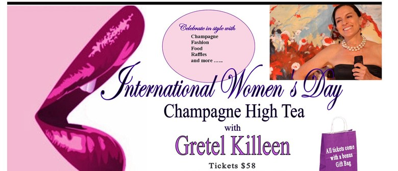 International Women's Day with Gretel Killeen