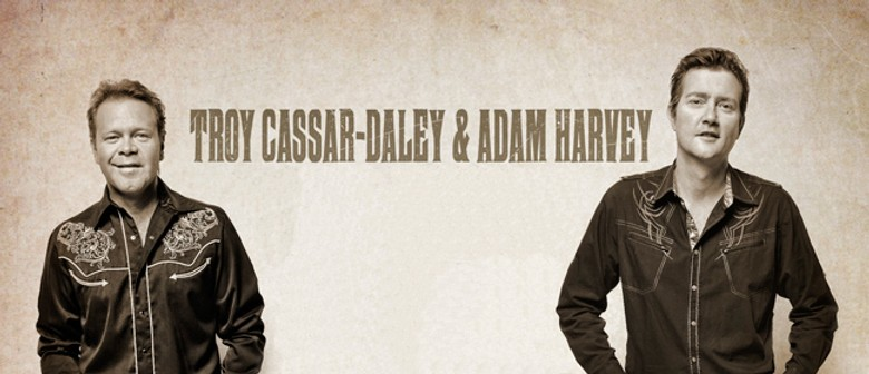 Troy Cassar-Daley and Adam Harvey