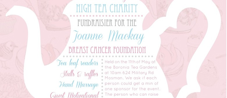 High Tea Charity Fundraiser