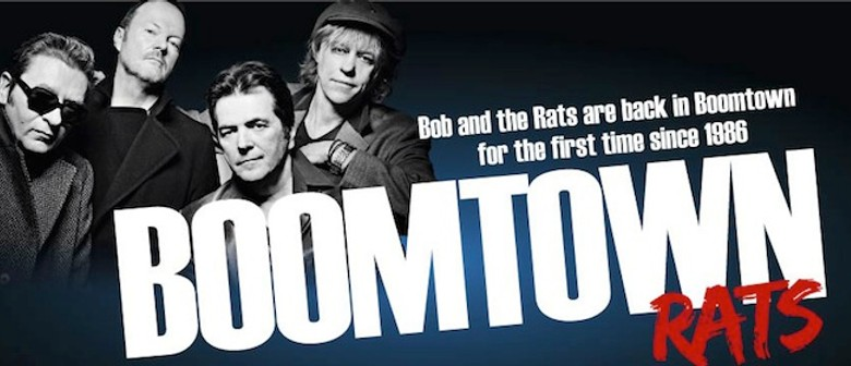 Boomtown Rats: CANCELLED