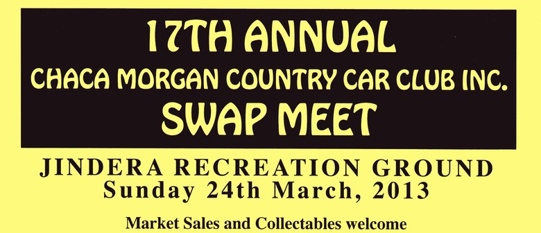 17th Annual CHACA Morgan Country Car Club Inc. Swap Meet