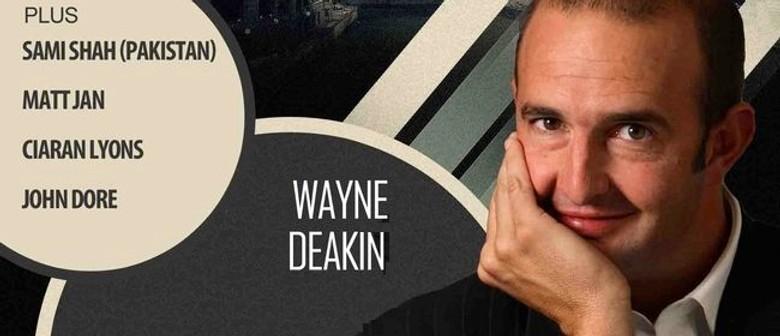Comedy Shack: Wayne Deakin