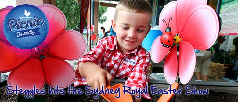 Steggles hits the Sydney Royal Easter Show
