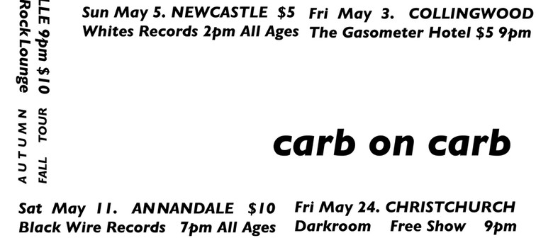 Carb on Carb, Unityfloors, East Ills, Charles Buddy Daaboul