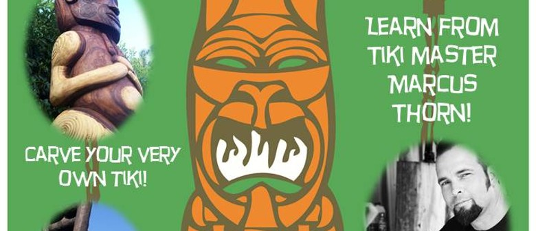 Tiki Carving Workshop with Marcus Thorn