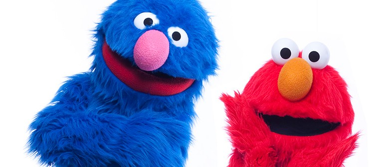 Elmo & Grover Make a Visit to Kids