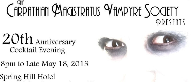 Carpathian Magistratus Vampyre Society Cocktail Event